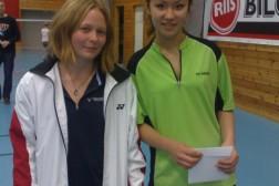 Cecilie og Elisa til semifinale i Frogner ranking, 4-6 november 2011