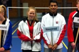 Junior NM på Frogner gav to medaljer til Haugerud