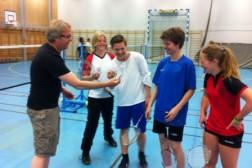 Trivelig sommeravslutning i badmintongruppa