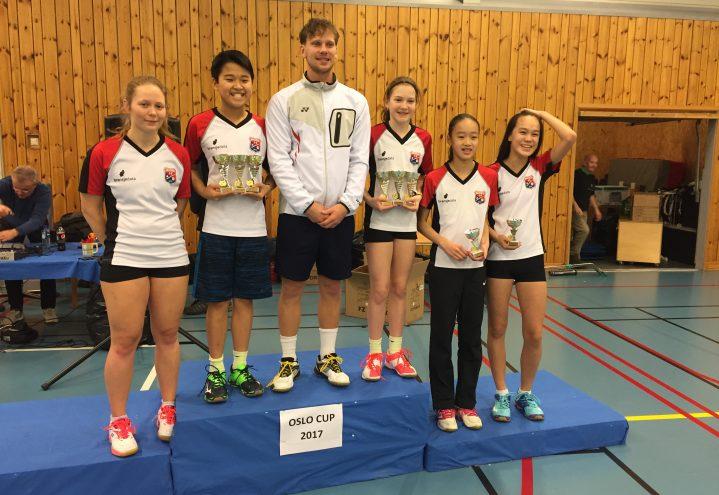 Sterk innsats av Haugerud på Bygdø U13-Senior elite ranking
