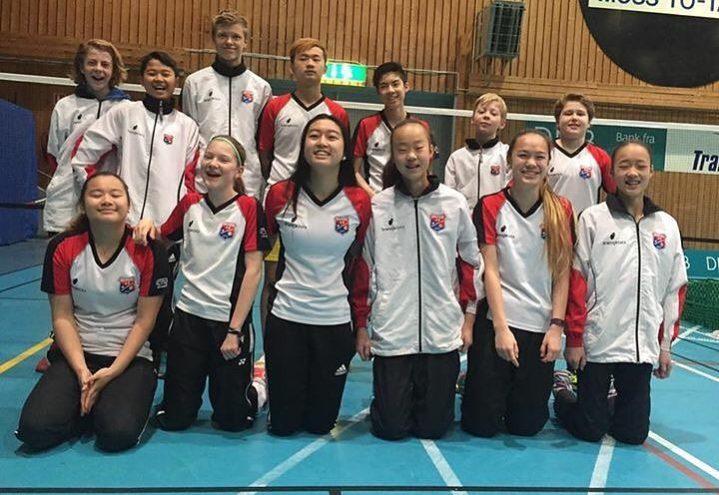 Haugerud nest beste klubb i U15 i Ungdommens badmintonmesterskap