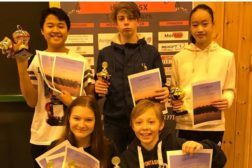 Strålende Haugerudspill på U15 ranking på Herøy i Nordland