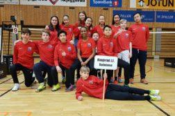 UBM2018 – Haugerud beste klubb i U15 og gull til Delia, Thomas og Mathias