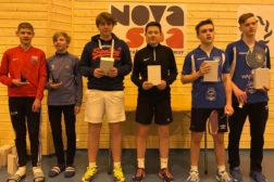 Tre av tre fra Haugerud tok gull på U15-ranking på Herøy