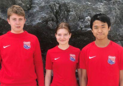 Tre Haugerudspillere til U17-EM