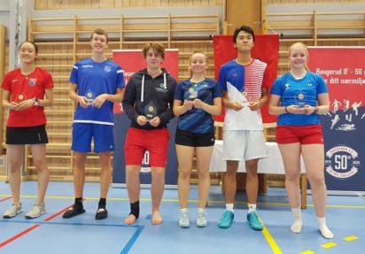 Haugerud ranking U19X,A – gode resultater på hjemmebane
