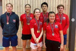 Haugerud beste klubb i Ungdommens badmintonmesterskap 2021